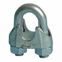 Зажим для сталевих канатів (тросів) DIN 741