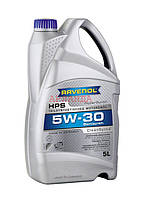 RAVENOL масло моторное 5w-30 HPS /VW 502 00/505 00, Fiat 9.55535-CR1/ - 5 л
