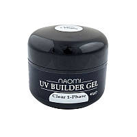 Однофазный гель Naomi UV Builder Gel Clear 1-Phase 48 г