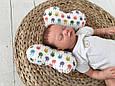 """Детская подушка для новорожденных """"Butterfly"""", зайки, фото 2"""
