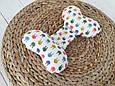 """Детская подушка для новорожденных """"Butterfly"""", зайки, фото 3"""