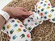 """Детская подушка для новорожденных """"Butterfly"""", зайки, фото 4"""