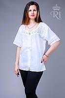 Летняя блуза большие размеры