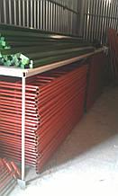 Леса рамные (комплект 6х6),риштування, Риштовка