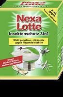 Nexa Lotte Insektenschutz 3in1 Elektroverdampfer - Электрофумигатор против комаров, мух и моли 3в1