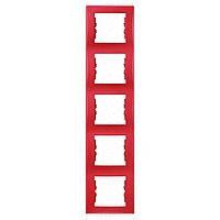 Рамка 5-постовая вертикальная Sedna Schneider Electric