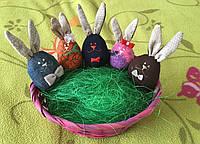 """Набор пасхальный """"Пасхальные кролики зайчики"""" детки"""