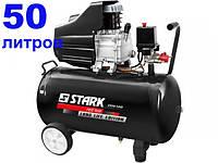Stark 2550-SAD поршневой однофазный компрессор 50л