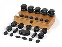 Камни для массажа базальтовые AvenoLife набор 45шт