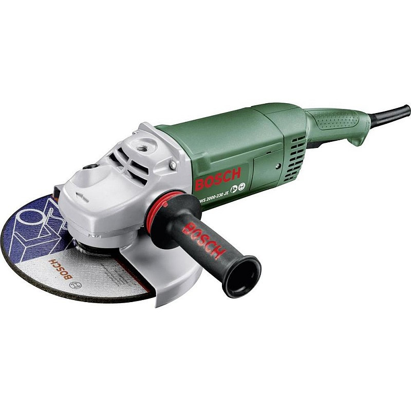 Угловая шлифмашина Bosch PWS 2000-230 JE, 06033C6001