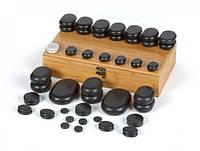 Камни для массажа базальтовые AvenoLife набор 50шт