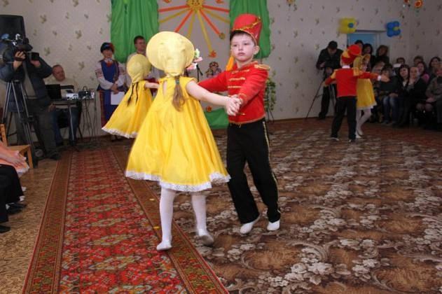 """Открытие в Д\с """"Малятко"""" с. Опытное, Донецкая обл. 7"""