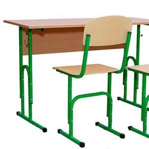 двухместный комплект мебели для школы