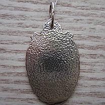 Серебряная подвеска-ладанка Пресвятая Богородица, фото 3