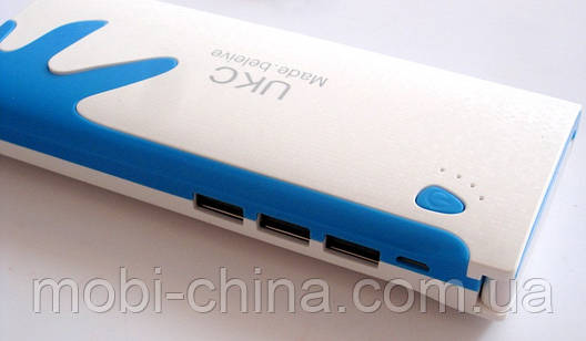 Универсальная батарея  - UKC mobile power bank 20000 mAh, 3 USB new, фото 2