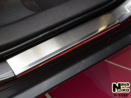 Накладки на пороги Premium Toyota Corolla XI 2013-