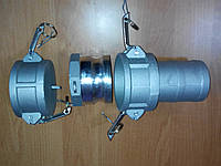 Муфта сливная A200, C200, DC200 (камлоки)