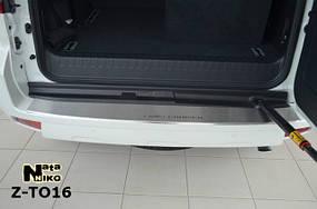 Накладки на пороги Premium Toyota Land Cruiser 150 2010-