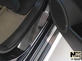 Накладки на пороги Premium Toyota Rav-4 III 2006-