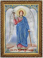 Набор для вышивания бисером Икона Ангела Хранителя P-081