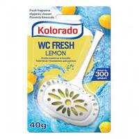Гигиенический блок для унитаза WC Kolorado, 40 гр., лимон