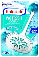 Гигиенический блок для унитаза WC Kolorado, 40 гр.,  морской