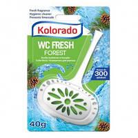Гигиенический блок для унитаза WC Kolorado, 40 гр., хвоя