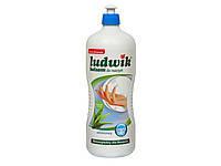 Моющее средство для посуды Ludwik Людвик 1 л, алое, Польша, фото 1