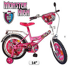 """Велосипед Baby Tilly 14"""" Monster High"""