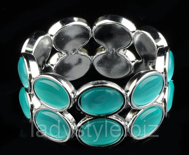 купить браслет с кошачьим глазом, купить браслет бирюзового цвета