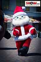Надувной костюм, пневморобот Дед Мороз на прокат