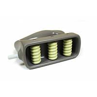 Насадка магнитно-роликовая на 3 ролика для больших зон (спина, бедра, ягодицы)