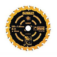 """Пильний диск 165мм внутр. 20мм z-24 """"DeWALT"""""""