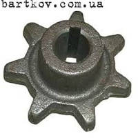 Звездочка  z-7.t-38 шнека зерн.колос. 54-10250 Нива