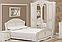 """Спальня , спальный гарнитур """"Луиза""""  шкаф 4д (золотая патина), фото 5"""