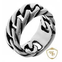 Кольцо мужское из стали «Яркое XV»