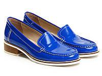 Лоферы Etor 5449-6173-15 синие, фото 1