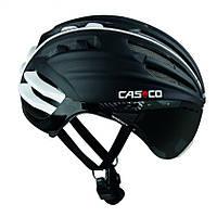 Велошлем с визором Casco SPEEDairo black (MD) L (59-63)