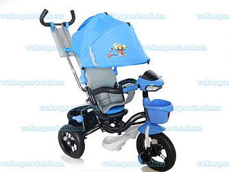 Трехколесный велосипед Crosser Т-960 Air Миньоны - голубой