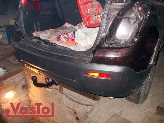 фаркоп на Opel Mokka
