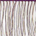 """Шарф шерстяной с шелковой бахромой, """"Осенние прогулки"""", 60х150 см, фото 3"""