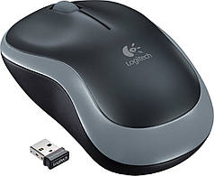 Logitech M185 Wireless Mouse (Grey)