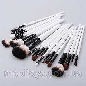 Кисти для макияжа 20 штук в чехле