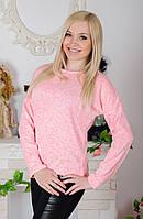 Кофта трикотажная  розовая, фото 1