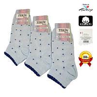 Женские носки короткие из хлопка Tekin