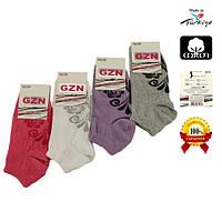 Женские носки короткие из хлопка GZN