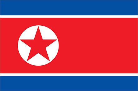 Флаг Северной Кореи (Аппликация) - (1м*1.5м), фото 2