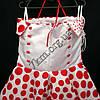 Платье нарядное бальное детское 10 лет Модница горох  Украина оптом., фото 3