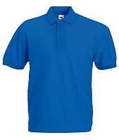 Футболка мужская поло POLO - 63-402-0 ярко-синий