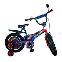 Велосипед детский двухколесный 14 дюймов SPIDERMAN